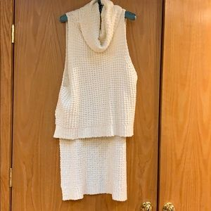 Used free people high low sweater